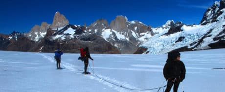 Patagonian ice cap expedition