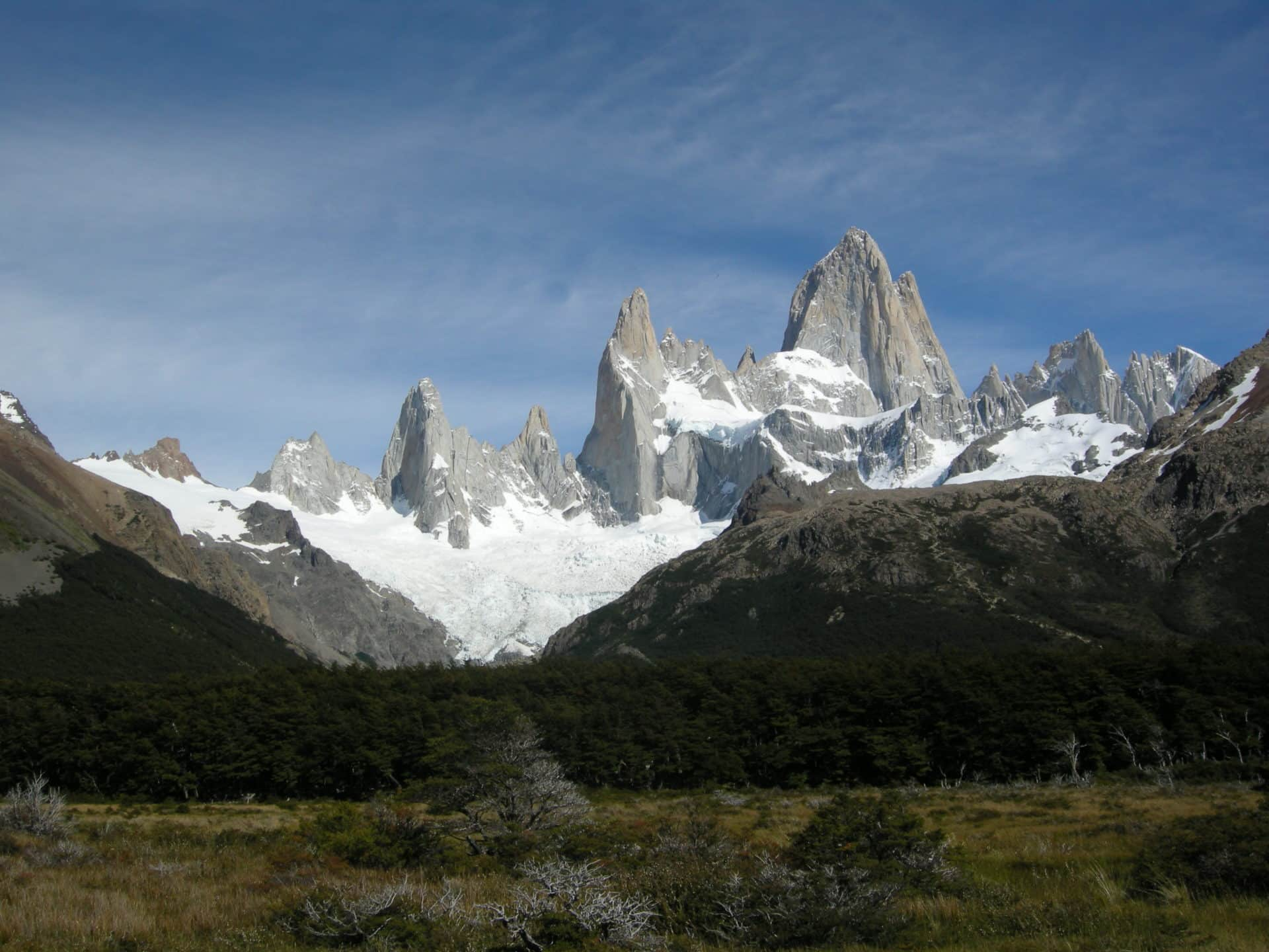 Hiking in Fitz Roy and Cerro Torre