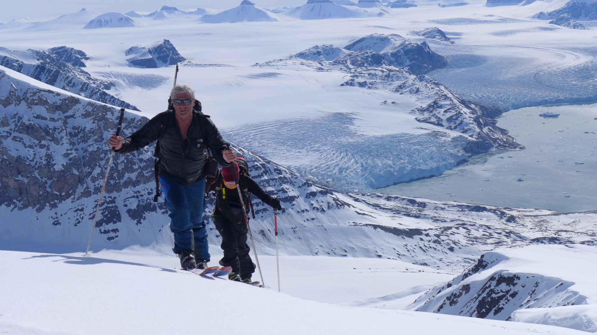 Ski touring in Spitsbergen, Svalbard