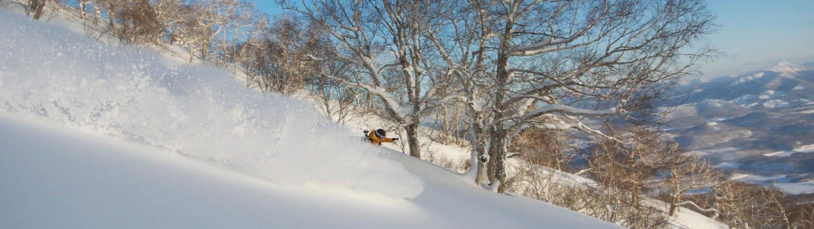 Ski touring from Niseko to Asahidake