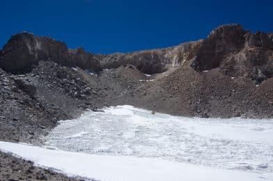 Ascent to Ojos del Salado Volcano 6893m