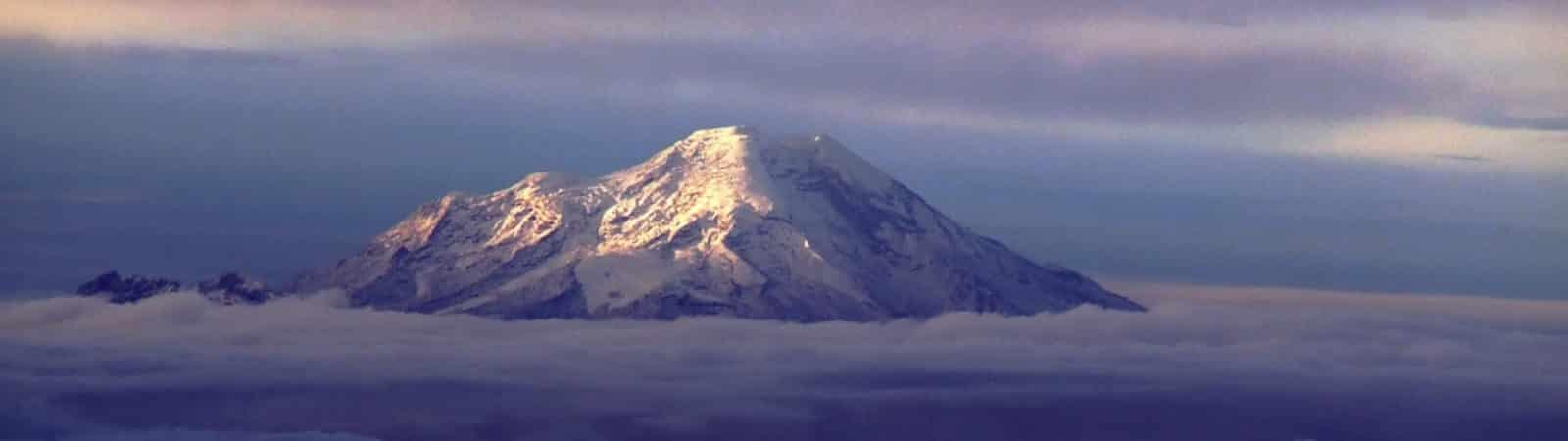 Chimborazo Volcano, the top of Ecuador