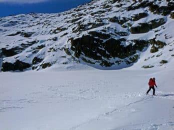 Ski mountaineering in Carros de Foc