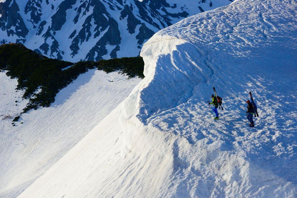 Honshu Haute Route ski tour, Mount Fuji