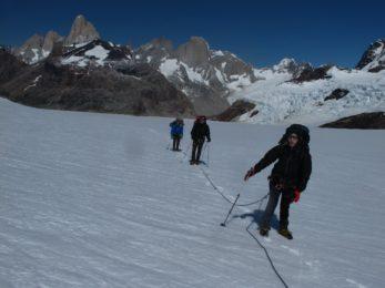 Hiking to Marconi Pass, El Chaltén