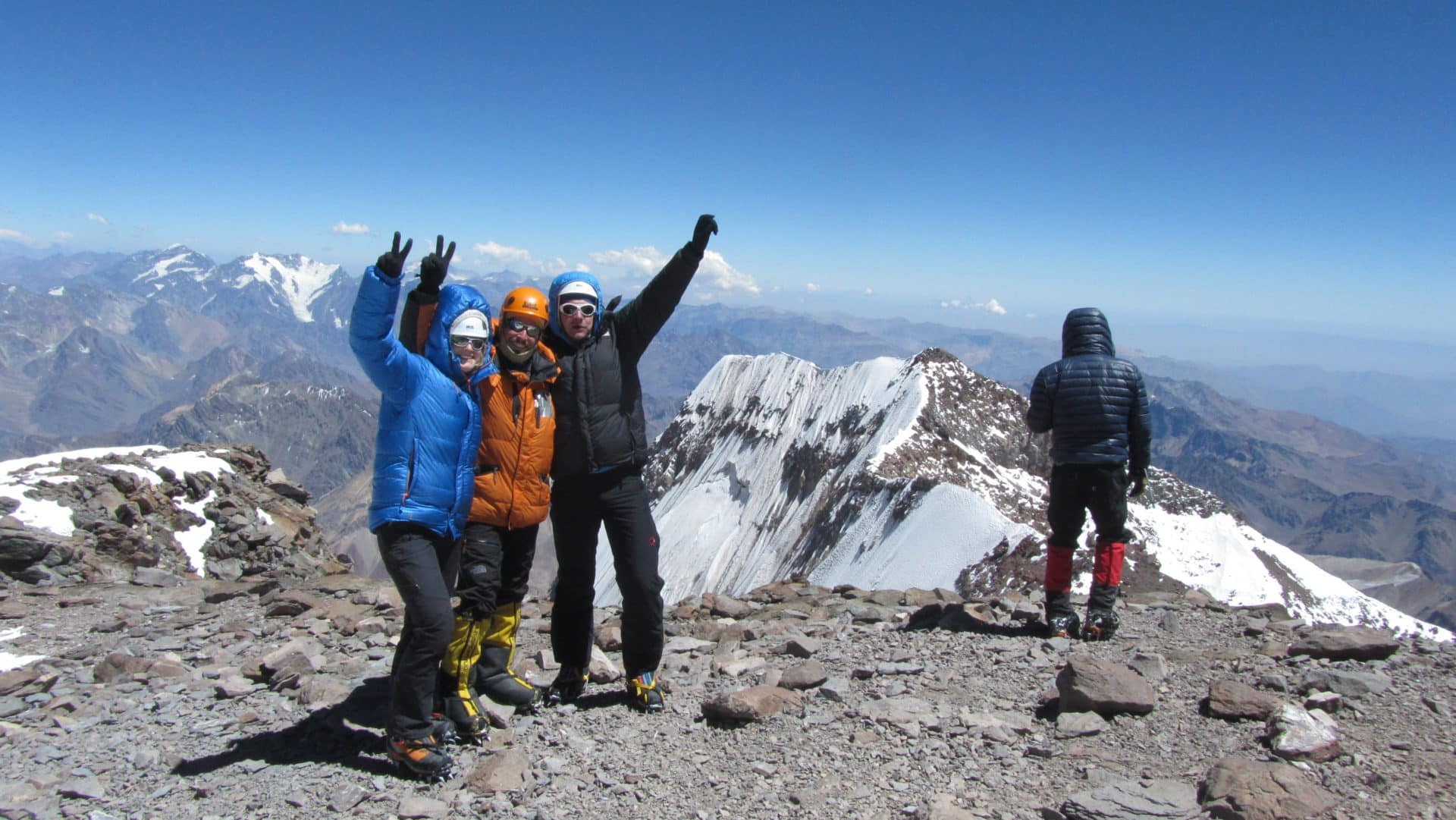 Ascent to Mount Aconcagua, 6962 m