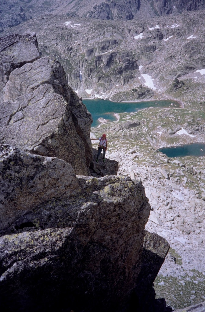 Climbing Els Encantats and Amitges
