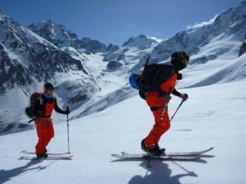 Skiing in Mount Elbrus