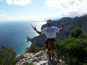 Climbing around Portovenere, 5 Terre