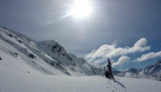 Ski touring in Ushuaia