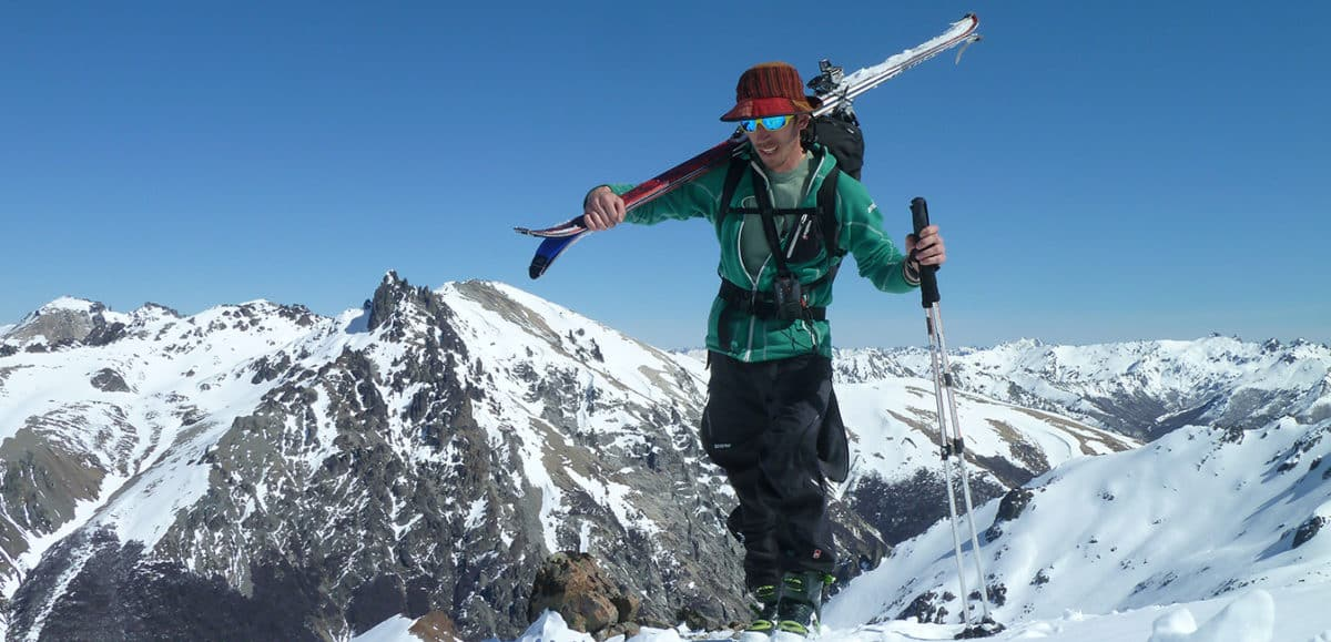 Skiing in Argentina with Indio, IFMGA mountain guide