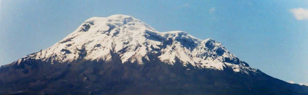 Top 5 volcanoes to climb in Ecuador - Chimborazo