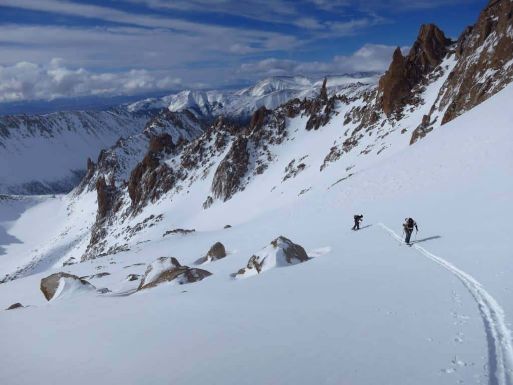 Ski tours in Argentina - Frey