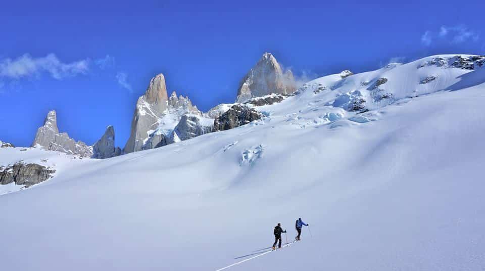 Ski tour in Argentina - El Chalten