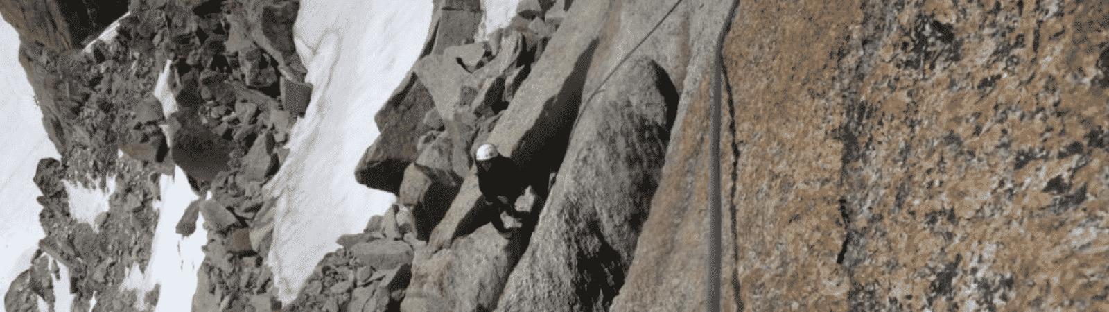 Arête des Cosmiques / Cosmiques ridge