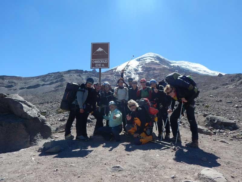 Base of Chimborazo
