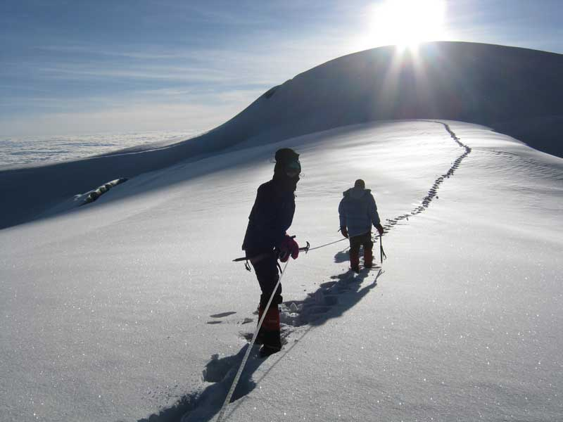 Whymper summit, Chimborazo