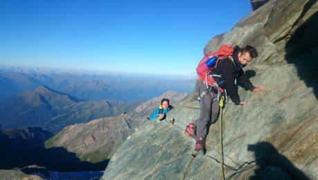 Climbing Grossglockner