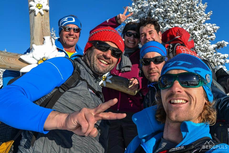 Ski touring in Ennstal