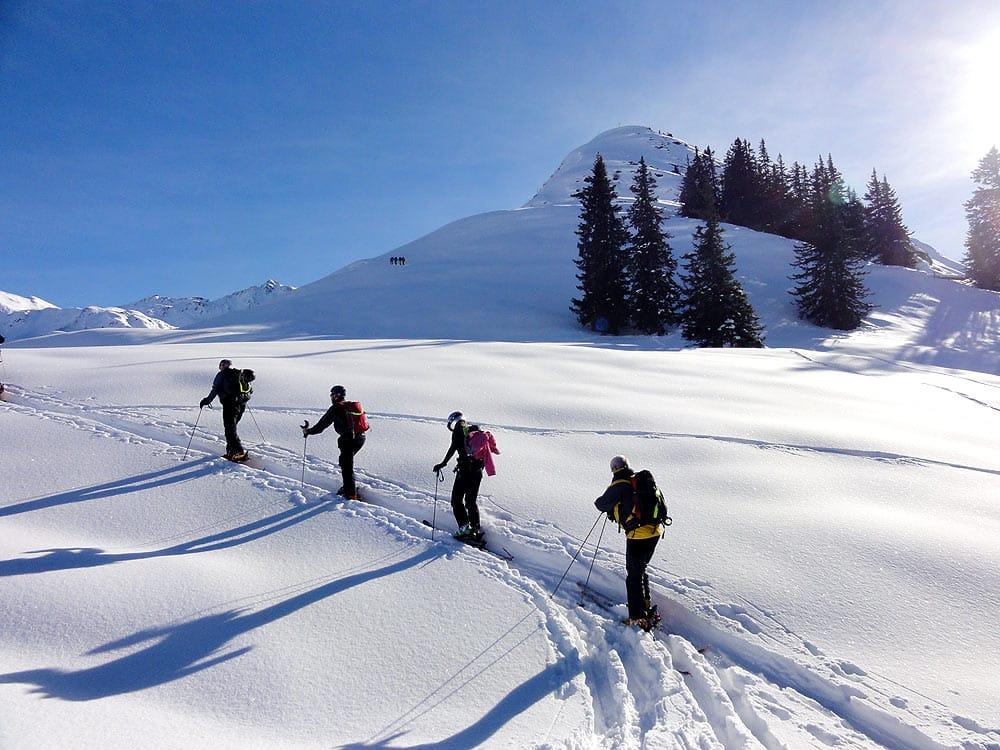 Ski touring in Innsbruck in Tyrol