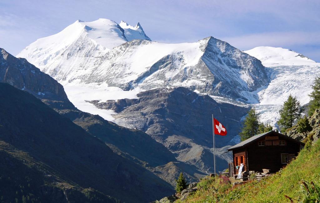 Hiking from Verbier to Zermatt