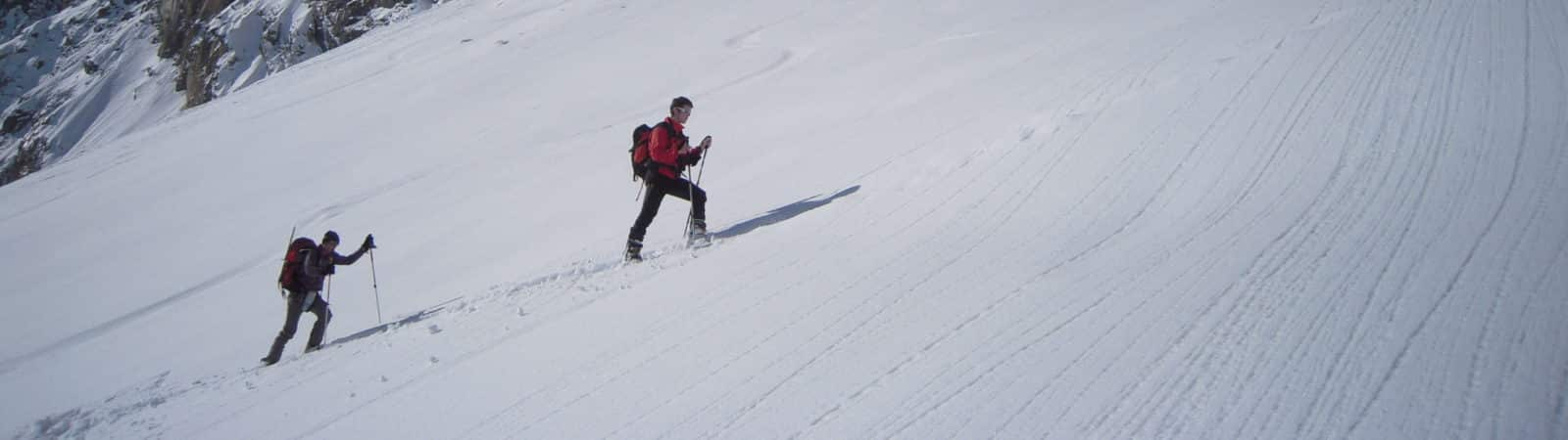 Ski touring and Freeride skiing in Les 3 Vallées