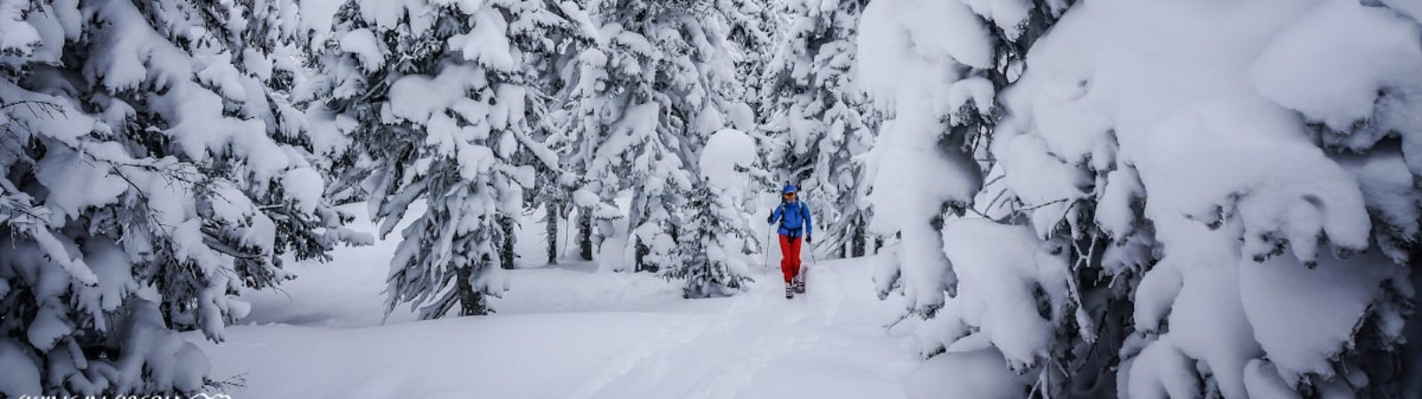Ski touring in Khamar-Daban, Baikal Lake