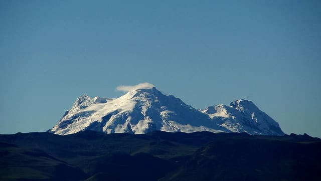 Antisana, Cayambe, Chimborazo Guided Ascent