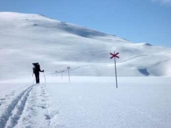 Kungsleden ski touring
