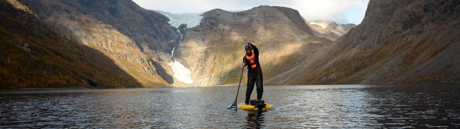 Outdoor activities in the fjords of Finnmark