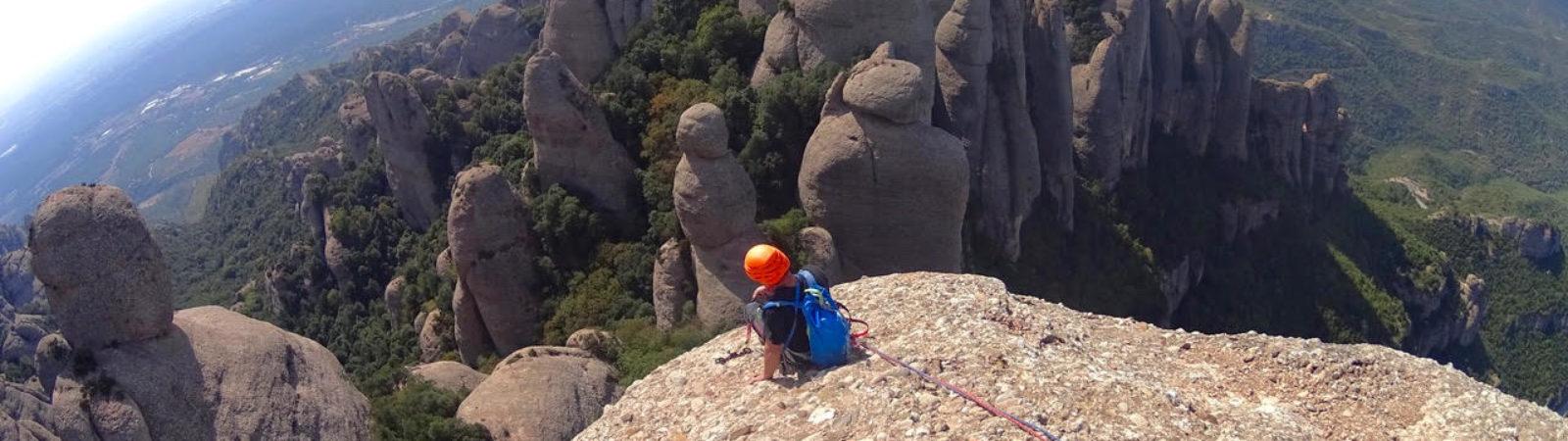 Barcelona, Montserrat, Guided Rock Climbing