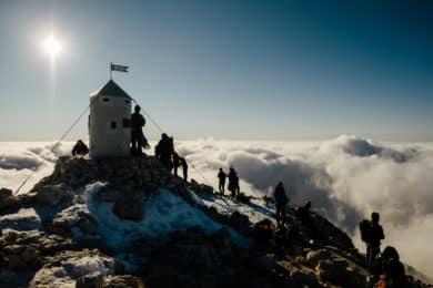 Climbing Mont Triglav