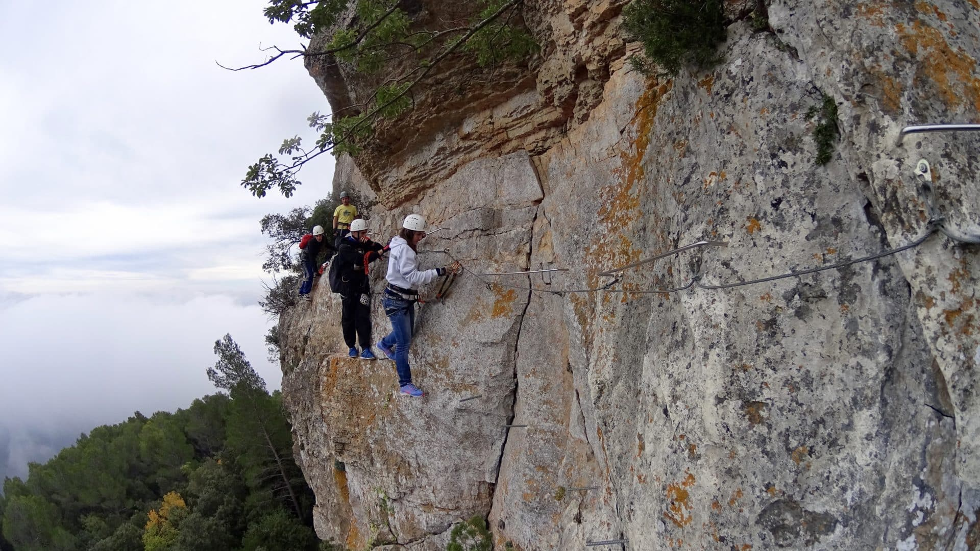 Barcelona, Full Day Guided Via Ferrata