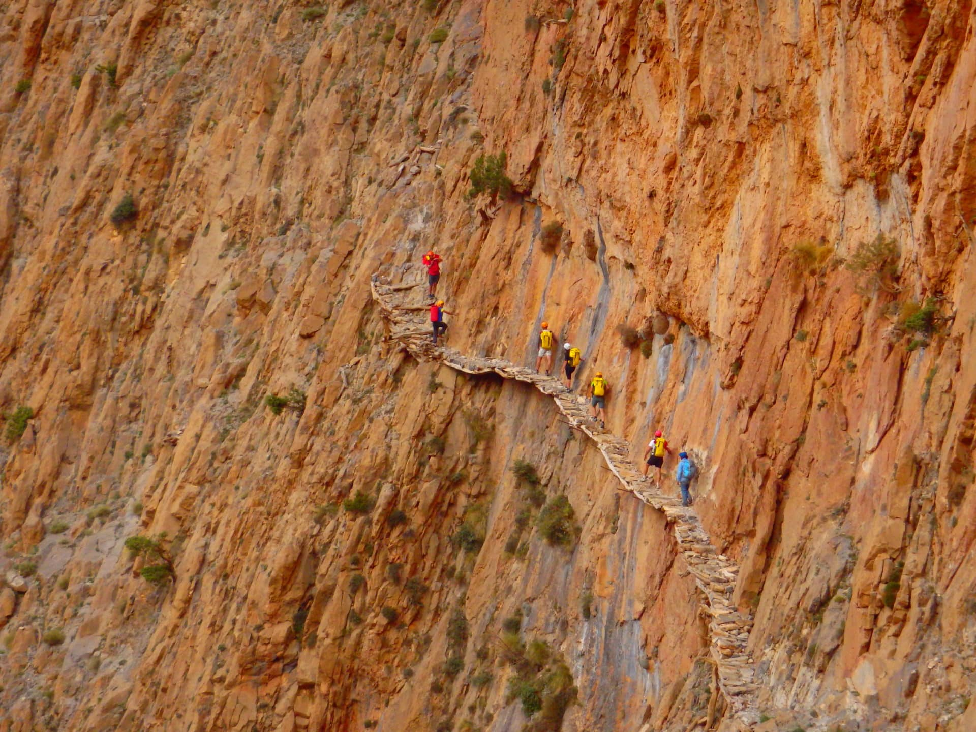 Canyoning week in the Moroccan Atlas