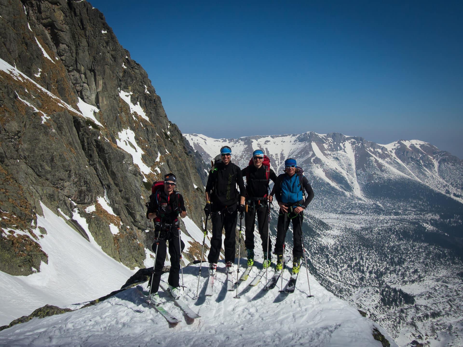 Haute Route Vysoke Tatry ski tour