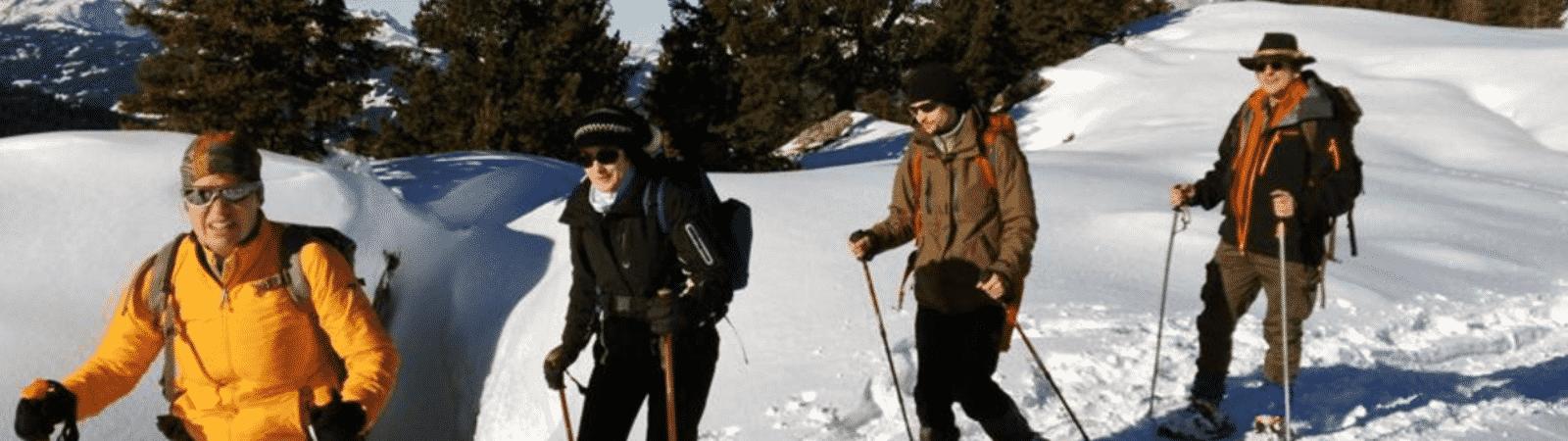 6-day Mont Blanc snowshoeing tour