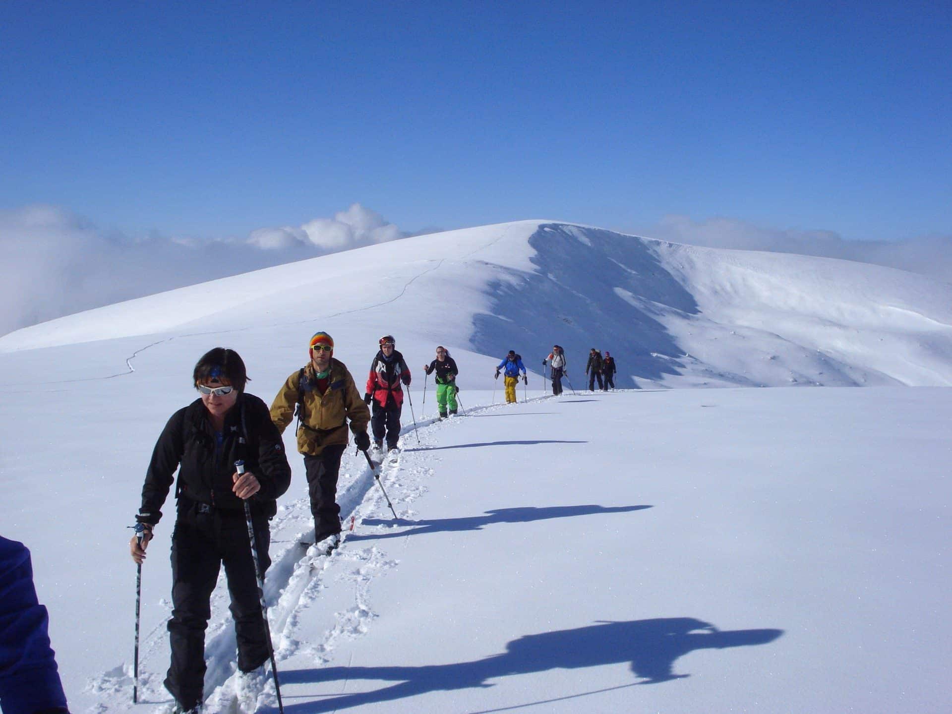 Rila mountains hut to hut ski touring 2-day trip