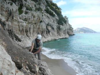 Sardinia rock climbing