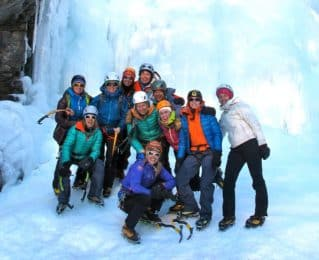 Cogne Ice Climbing introduction course