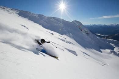 Steep Skiing Clinic in Blackcomb