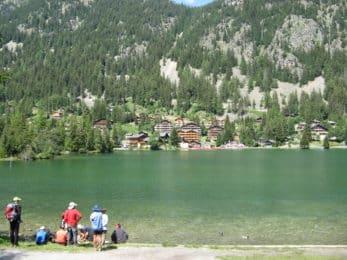 Champex et son lac mythique