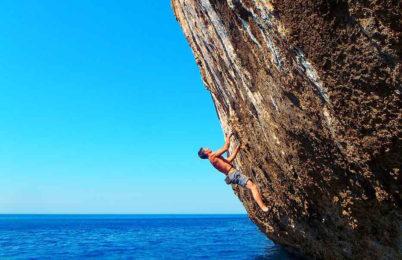 Rock climbing in Mallorca