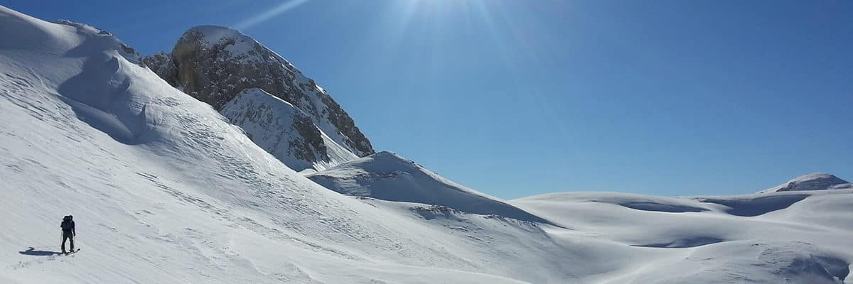 Ski touring in Triglav