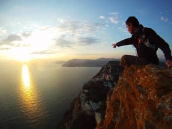 Rock climbing in les Calanques