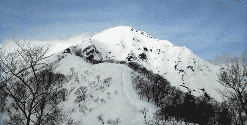 Winter climbing on Mount Tanigawa