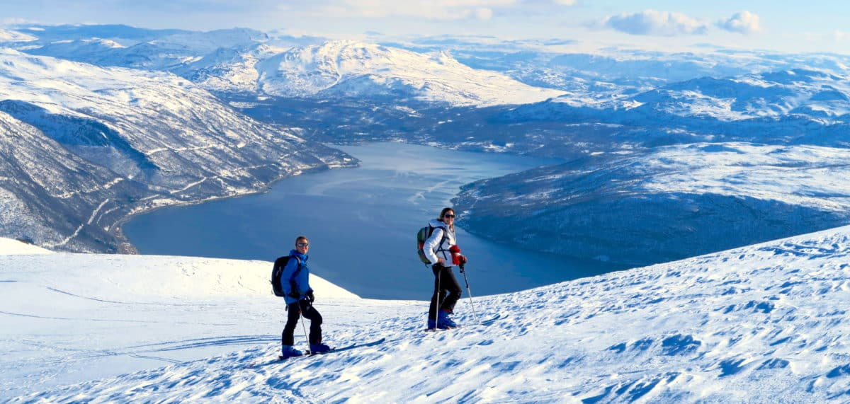 Ski touring in Finnmark