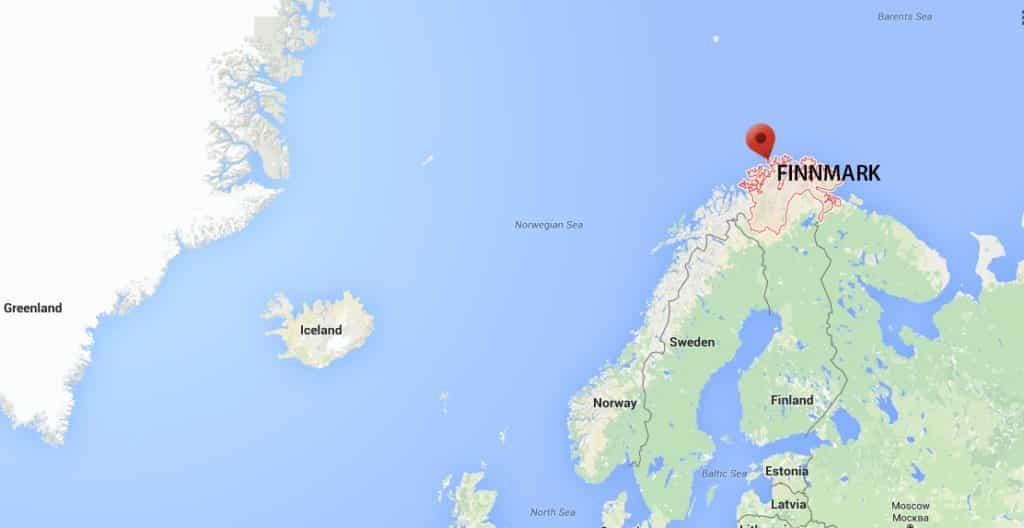 Finmark map