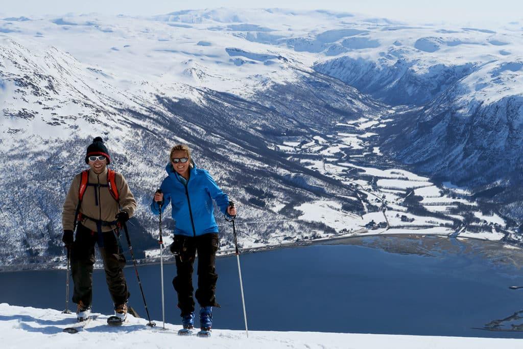 Ski trip in Finnmark