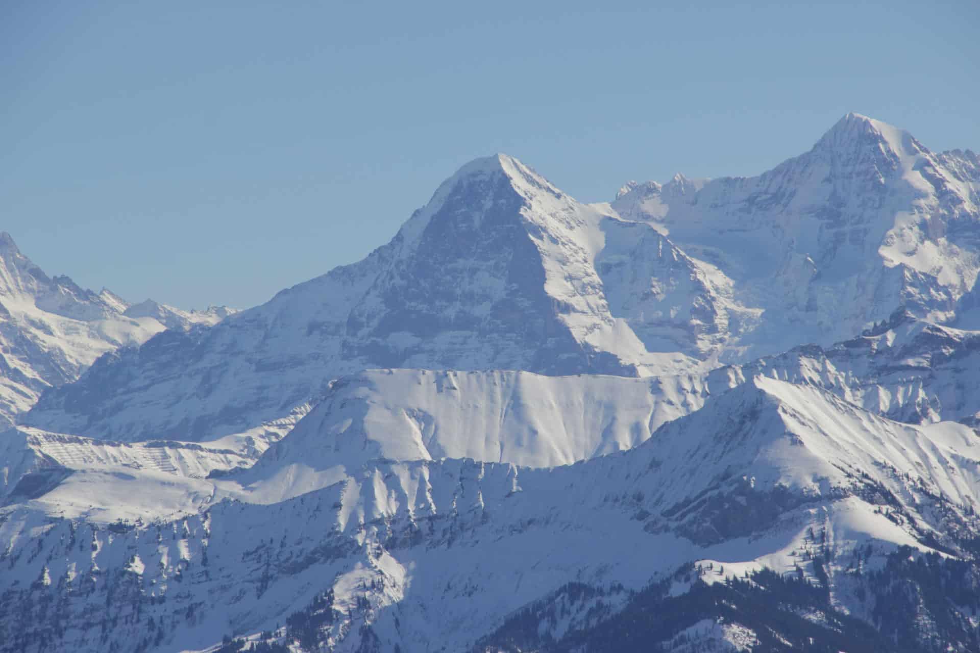 Climbing Mount Eiger, Mittellegi ridge