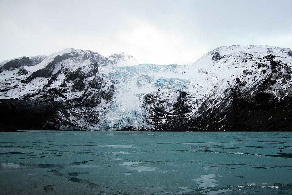 Ascent of Eyjafjallajökull Volcano in Iceland
